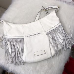 Lucky Brand Leather Purse with Tassels